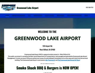 greenwoodlakeairport.com screenshot