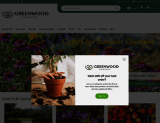 greenwoodnursery.com screenshot