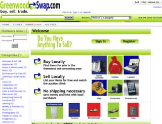 greenwoodswap.com screenshot