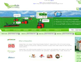 greenytails.com screenshot