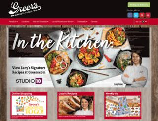 greers.com screenshot