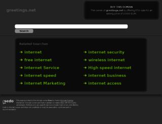 greetings.net screenshot