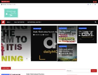 greetingsquote.com screenshot