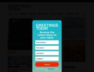 greetingstoday.co.uk screenshot