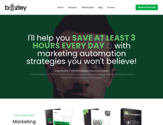 gregbeazley.com screenshot
