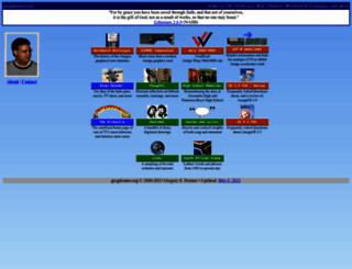 gregdonner.org screenshot