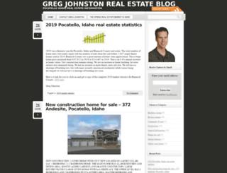 gregjohnstonblog.com screenshot