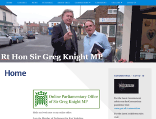 gregknight.com screenshot