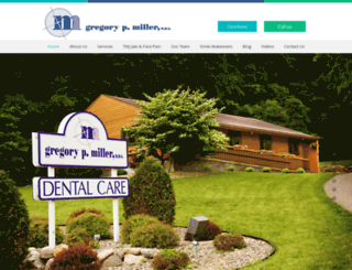 gregmillerdds.com screenshot
