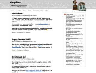 gregobase.selapa.net screenshot