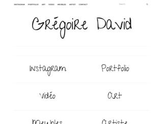 gregoiredavid.net screenshot