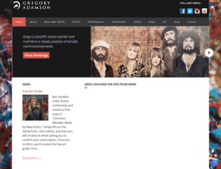 gregoryadamson.com screenshot