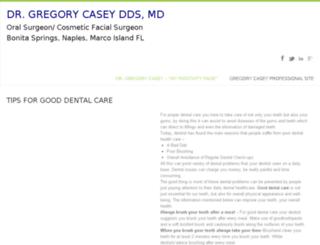 gregorycaseyflorida.com screenshot