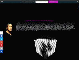 gregorymarkel.com screenshot