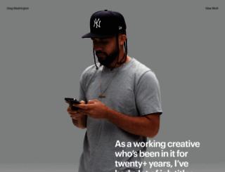 gregwashington.ca screenshot