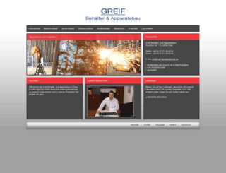 greif-behaeltertechnik.de screenshot