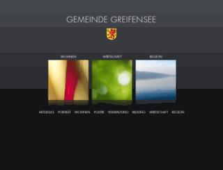 greifensee.ch screenshot