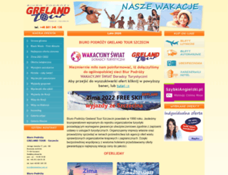 grelandtour.com.pl screenshot