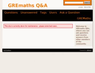 gremaths.com screenshot