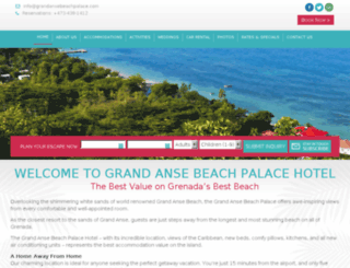 grenadabeachpalace.seasmoke-dev.com screenshot