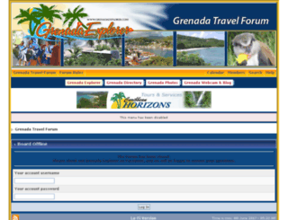 grenadatravelforum.com screenshot