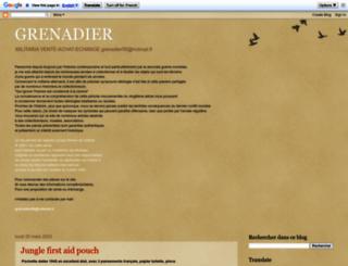 grenadiercollection.blogspot.fr screenshot