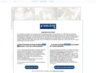 grenierjuliette.canalblog.com screenshot