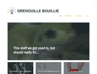 grenouillebouillie.wordpress.com screenshot