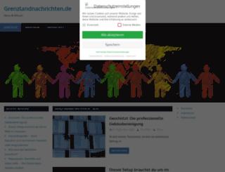grenzlandnachrichten.de screenshot