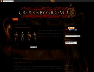 grepolis-pro.blogspot.be screenshot