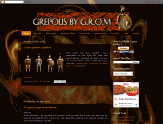 grepolis-pro.blogspot.com screenshot