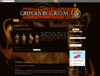 grepolis-pro.blogspot.it screenshot
