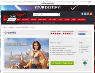 grepolis.browsergamez.com screenshot