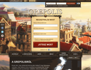 grepolis.hu screenshot