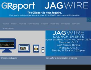 greport.gru.edu screenshot