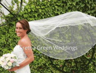 gretnaweddings.co.uk screenshot