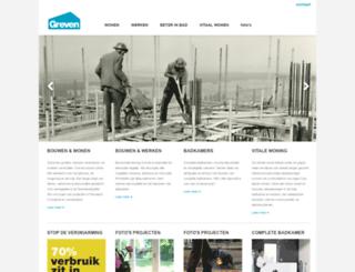 grevenbouw.nl screenshot