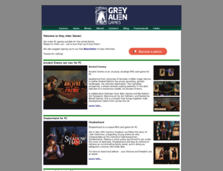 greyaliengames.com screenshot