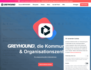 greyhound-software.de screenshot
