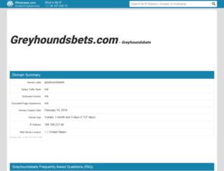 greyhoundsbets.com.ipaddress.com screenshot