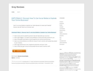 greyreviews.wordpress.com screenshot