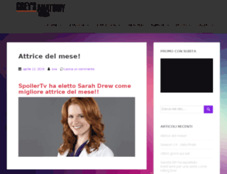 greysanatomy-italia.com screenshot