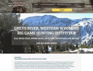 greysriver.com screenshot