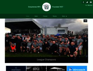 greystonesrfc.ie screenshot