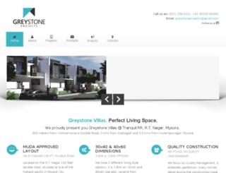greystonevillas.com screenshot