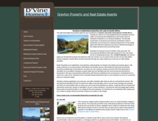 greyton-property.co.za screenshot
