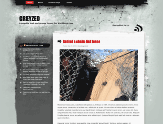 greyzeddemo.wordpress.com screenshot
