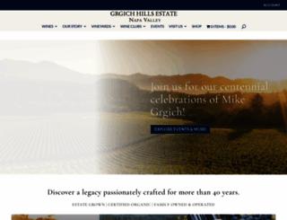 grgich.com screenshot