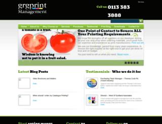 grgprint.com screenshot