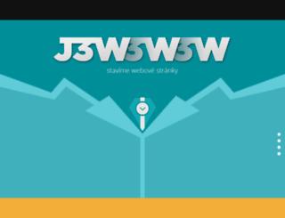 grid.j3w.cz screenshot
